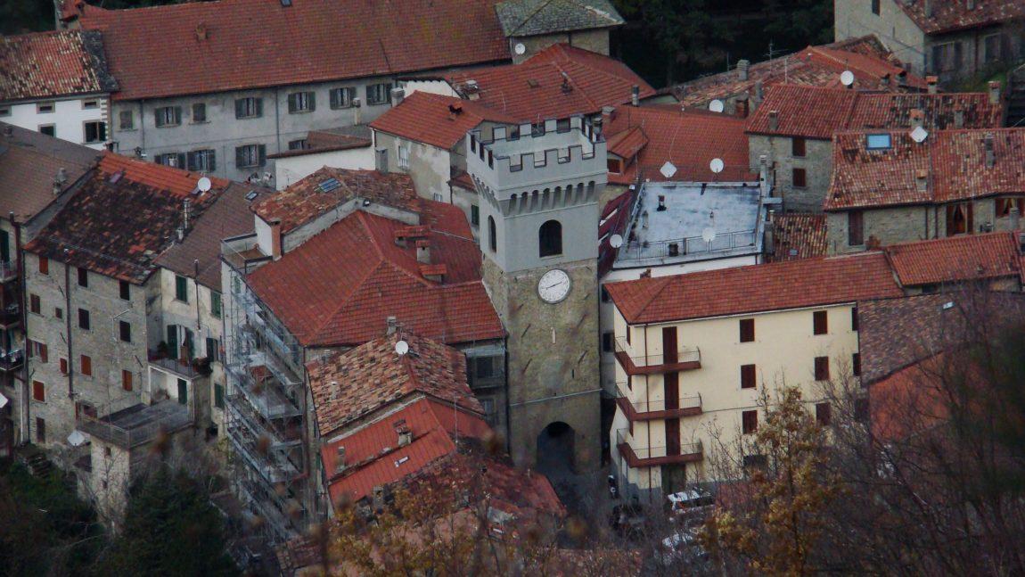 Porta Fiorentina o Torre dell'Orologio